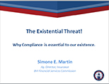 The Existential Threat: Why Compliance is Essential - Surviving the Storm Conference