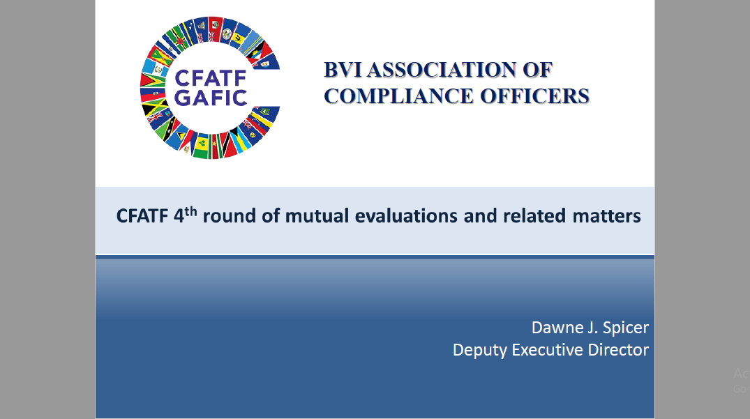CFATF 4th Round of Mutual Evaluations and Related Matters