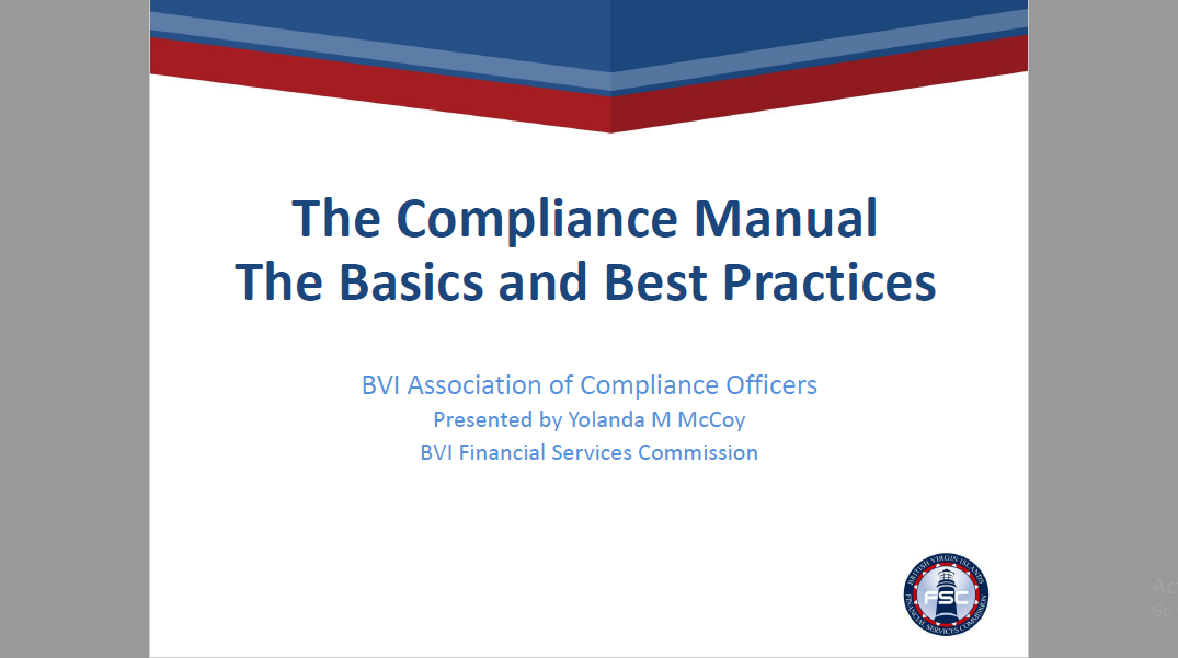 The Compliance Manual The Basics and Best Practices